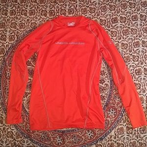 Under Armour Coldgear Long Sleeve Shirt,  Medium